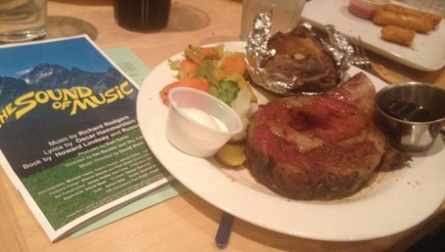 Todd's Prime Rib & Sound of Music Program