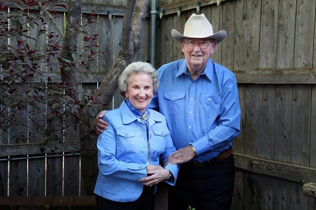 Bill and Sylvia Webster, the 2012 Greeley Stampede Grand Marshals