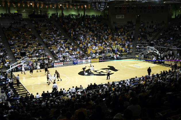 Coors Event Center in Boulder