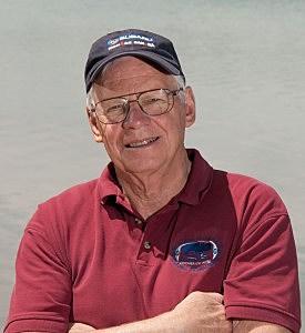 English Channel swimming professor George Thornton