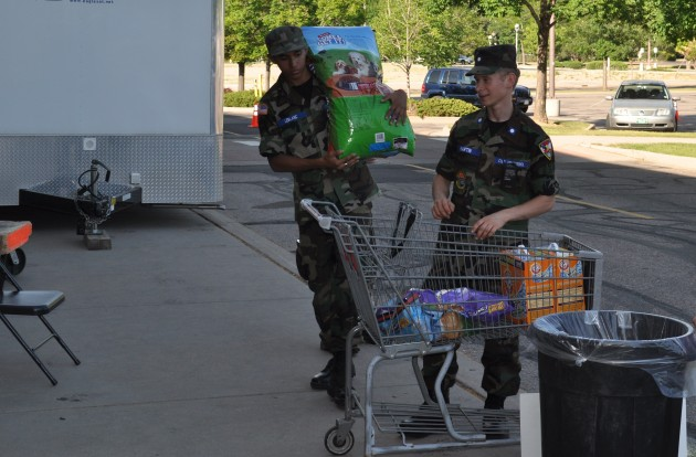 Civil Air Patrol helps at the High Park Fire Distribution Center