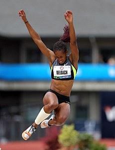 Former CSU long jumper Janay DeLoach