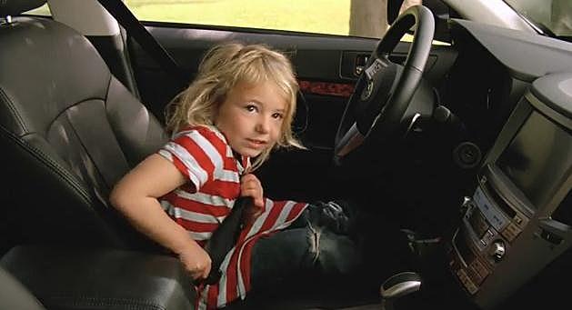 Little Girl Driver  - Subaru Commercial