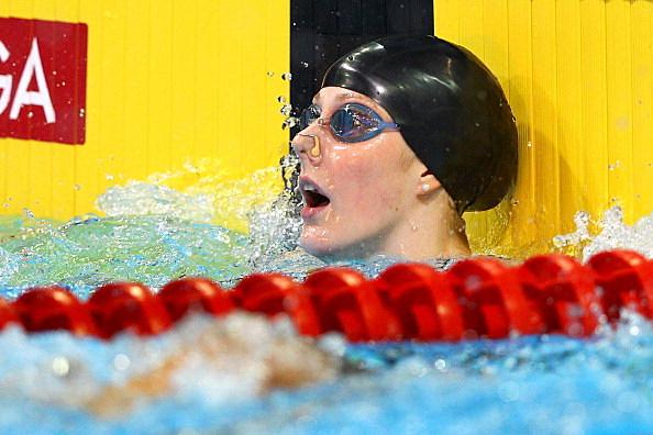 Missy Franklin at 2012 U.S. Olympic Swimming Team Trials