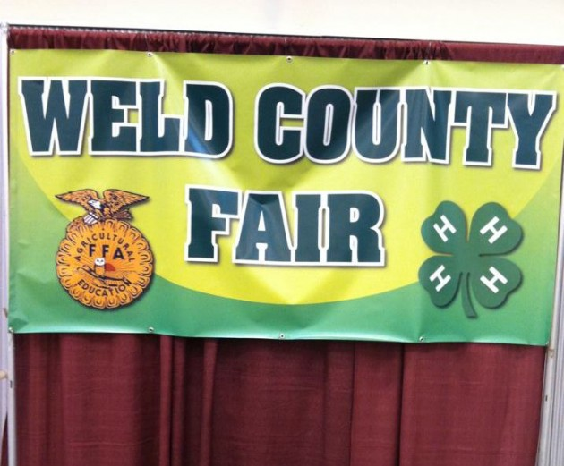 Weld County Fair Banner