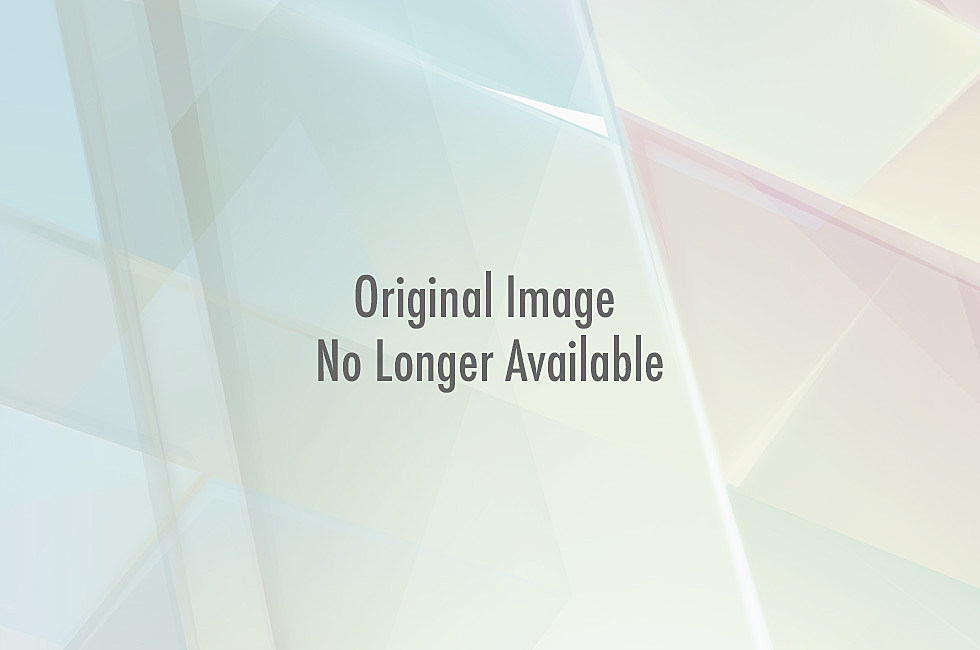 "Todd Harding stands in front of the ""A"" at Hughes Stadium in Fort Collins"