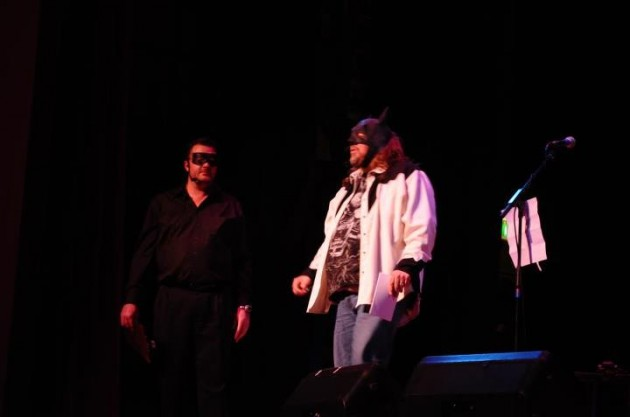 Brian and Todd as the Dynamic Duo at 2011 Habajeeba Show