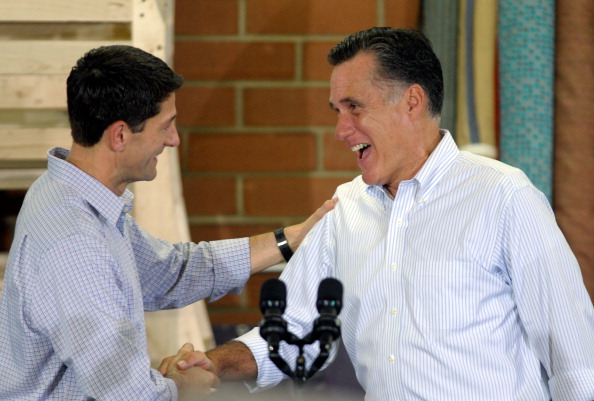 Mitt Romney Campaigns With His Vice Presidential Pick Rep. Paul Ryan