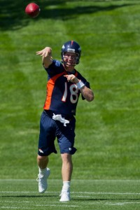 Peyton Manning Broncos Training Camp
