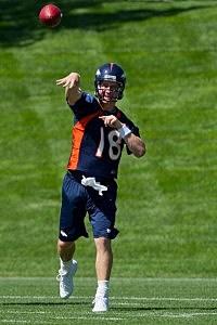 Peyton Manning Broncos Training Camp