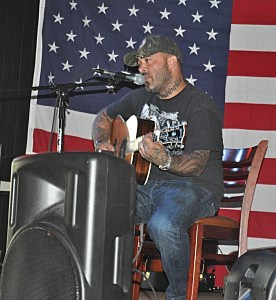 Aaron Lewis at the Boot Grill in Loveland