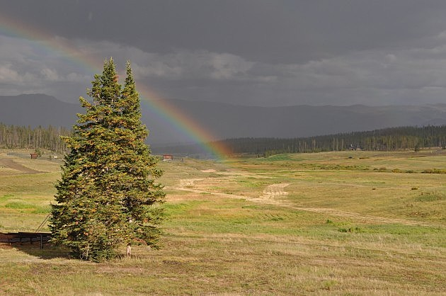 Rainbow at YMCA of the Rockies - Snow Mountain Ranch