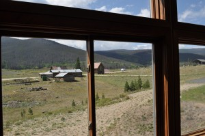 The old Ranch Buildings at YMCA of the Rockies - Snow Mountain Ranch