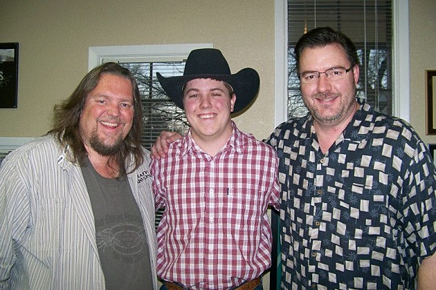 Brian and Todd with Austin Wahlert during the 2012 28 Hours of Hope