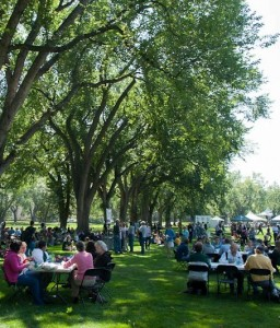 CSU Picnic After President's Address 2012