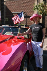 Nelson's Car Show Ladies' Choice Award:   Sue Herning (of Fort Collins) 1977 Chevy Corvette