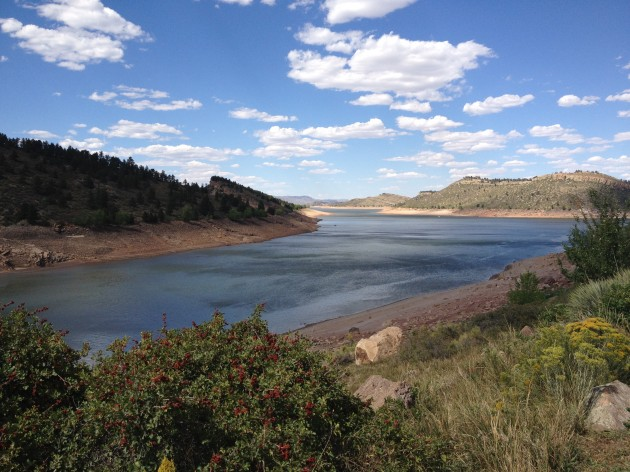 Horsetooth Reservoir 9/4/12