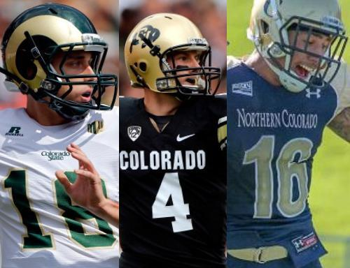 CSU Rams, CU Buffs, UNC Bears