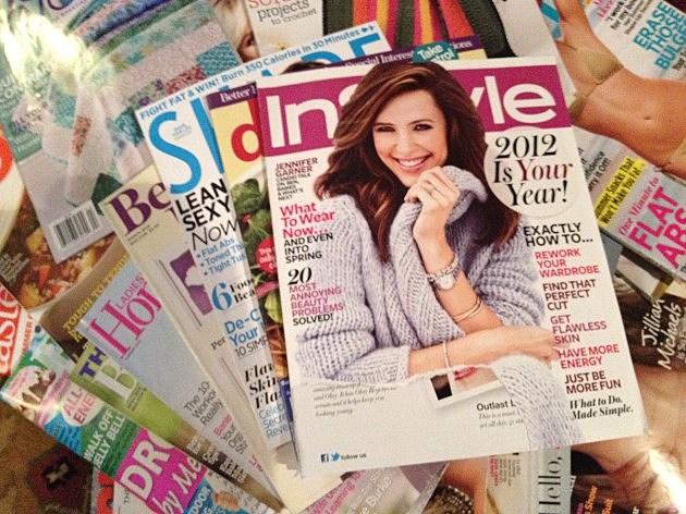 My wife's Magazine Pile