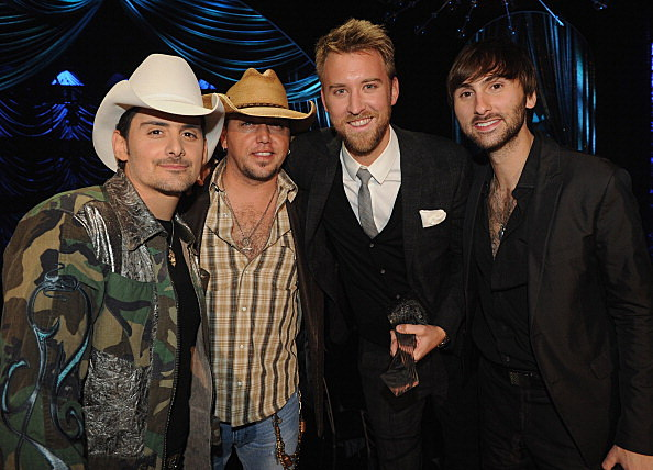 Brad Paisley, Jason Aldean, Charles Kelley Lady Antebellum and Dave Haywood Lady A.