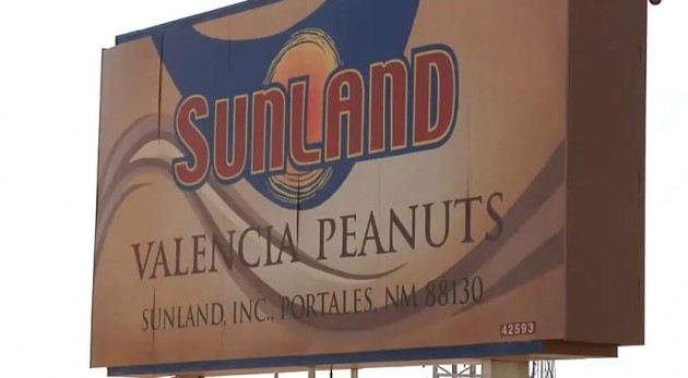Sunland Peanut sign