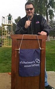 Todd Harding hosting Walk to End Alzheimer's 2011
