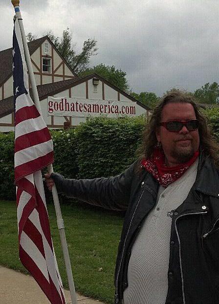 me and flag
