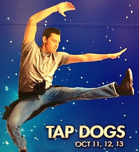 Tap Dogs Lincoln Center Poster
