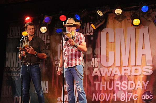 446th Annual CMA Awards Nominations Announced By Jason Aldean And Luke Bryan