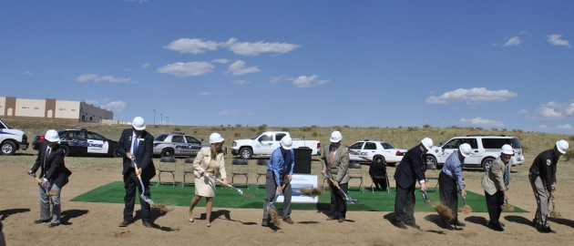 Crime Lab Ground Breaking