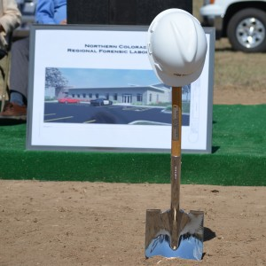 Northern Colorado Crime Lab Ground Breaking