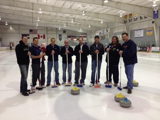 Townsquare Media Curling Team