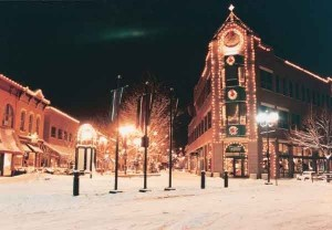 Old Town Fort Collins Christmas Lights