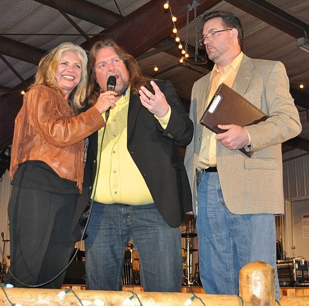 Susan Moore, Brian Gary, and Todd Harding host the Hearts & Horses Gala