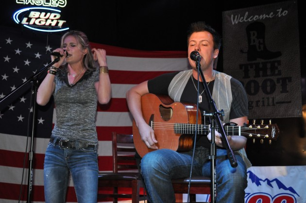 Kristy Lee Cook performs at the Boot Grill in Loveland