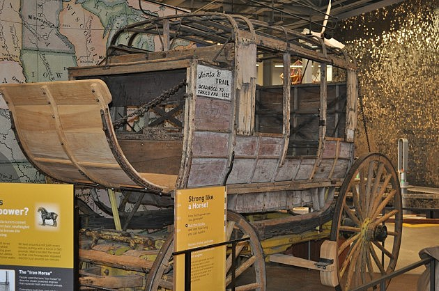 Stage Coach at Fort Collins Museum of Discovery