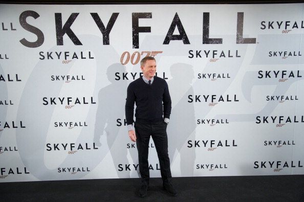 Daniel Craig attends the 'Skyfall' Madrid Photocall