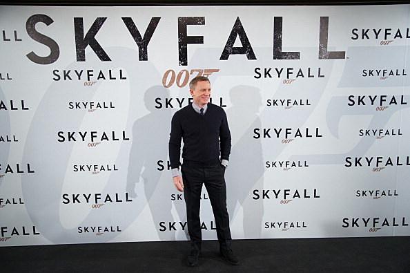 Daniel Craig attends the 'Skyfall' Madrid Photocall