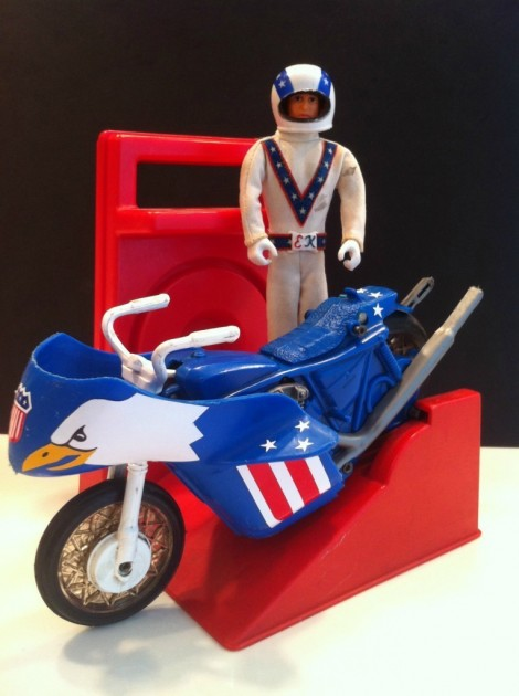Evil Knievel Stunt Cycle