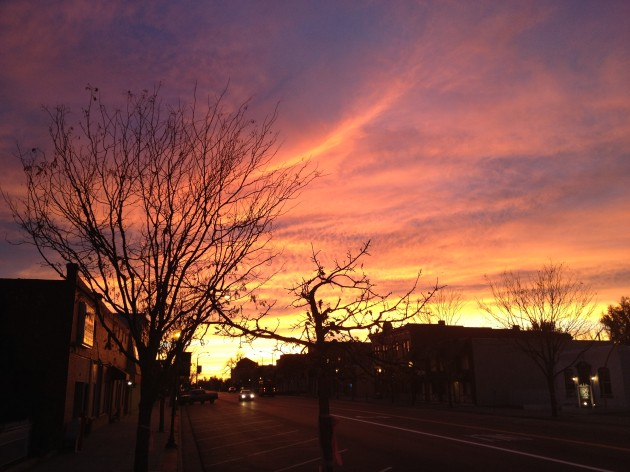 Windsor, CO Sunrise November 1st, 2012