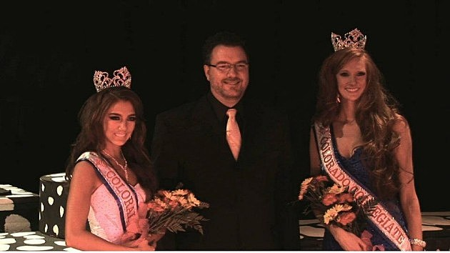 Todd Harding with last year's winners Logan Torres & Kate Creel