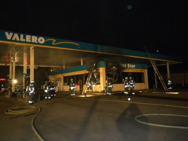 Fire at Valero Gas Station in Fort Collins