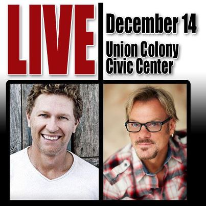 Craig Morgan and Phil Vassar at the Union Colony Civic Center