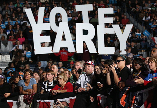 Vote Early Sign