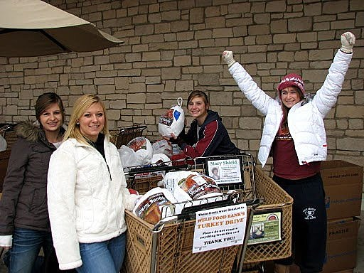 Weld Food Bank Turkey Drive