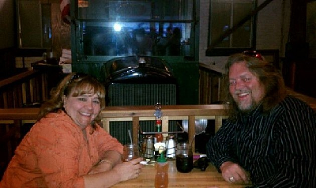 Kyla and I at Beau Jos