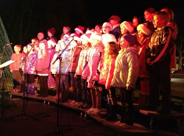 Centennial Children's Chorus Perfoms during NightLights Celebraton