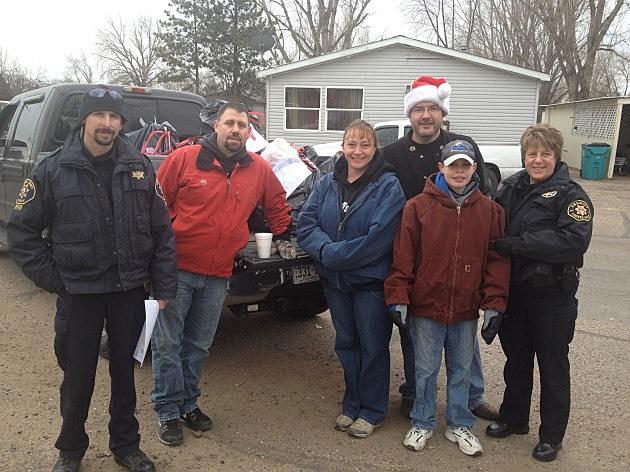 Todd's Santa Cop Delivery Team