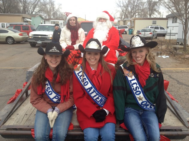 Santa and the Queens