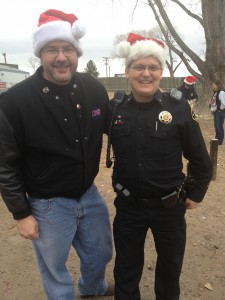 Todd Harding and Larimer County Sheriff Justin Smith
